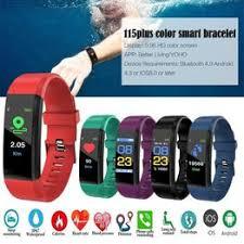 Waterproof Smart Bracelet Watch 115 Plus Blood Pressure ... - Vova