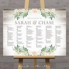 Wedding Seating Chart Poster Board Wedding Chart Seating Sada Margarethaydon Com
