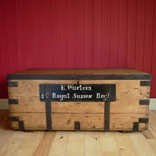 military trunk coffee table lovely antique campaign chest coffee table storage trunk military ww1 box of