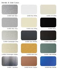 Acp Colour Chart China Wenzhou Jixiang Alusign Ybond Aluminum Composite