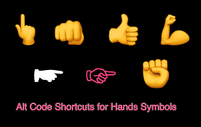 Raised fist using keyboard characters