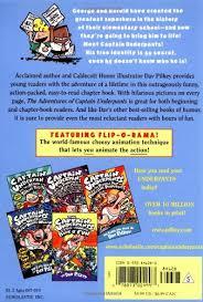 amazon the adventures of captain underpants 9780439082822 dav pilkey books