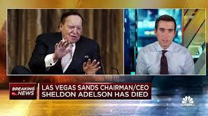 Las Vegas Sands founder Sheldon Adelson ...