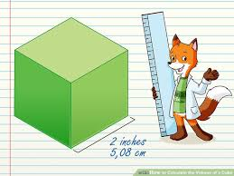 volume equation cube. image titled calculate the volume of a cube step 01 equation
