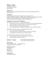 High School Counselor Resume Interesting 48 Basic School Counselor Resume Rm U48 Resume Samples
