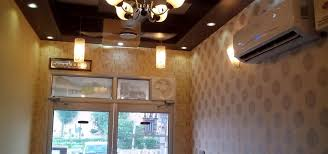 False Ceiling Design And Wallpaper By Mohali Interiors Homify - House interior ceiling design