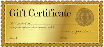 gift certificate for business program details menominee downtown business association