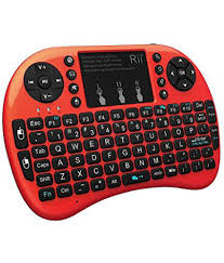 Orange Light On Touchpad Rii I8 Mini Wireless 2 4g Back Light Touchpad Keyboard With