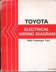 toyota electrical wiring diagram book 1983 passenger cars image is loading toyota electrical wiring diagram book 1983 passenger cars