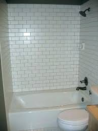 bathtub surrounds tile surround a bathroom design subway tub wall cost ti