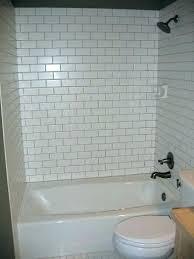 bathtub surrounds tile surround a bathroom design subway tub wall cost ti