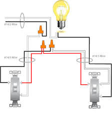 one light two switches wiring hostingrq com one light two switches wiring wiring diagram 2 lights 1 switch wiring auto wiring diagram