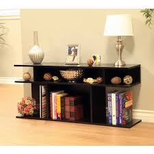 Captivating Black Console Table Modern Console Table Wood
