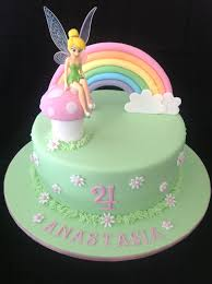 Tinkerbell Cake Love The Simplicity Of This One Tinkerbell