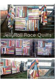 Jelly Roll Race Quilt :: Changing the Quilt Size & Determining ... & Simple Jelly Roll Quilt Tutorial Adamdwight.com