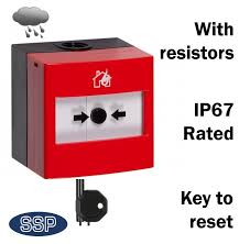 ip67 external waterproof fire alarm