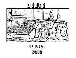 Small Picture john deere gator coloring pages Amazing John Deere Coloring