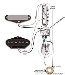 mod garage 50s les paul wiring in a telecaster premier guitar gibson s 50s wiring applied to a telecaster the tone pot connects to the volume pot s output middle lug instead of the input lug wiring diagram