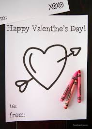 Free Valentine Coloring Pages Perfect Kids