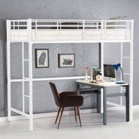 cool loft beds for teenage girls. Delighful Girls Product Image Gymax Twin Loft Bed Metal Bunk Ladder Beds Boys Girls Teens  Kids Bedroom Dorm White Throughout Cool For Teenage