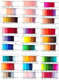Skin Scanner Color Chart Copic Color Combinations Copic Marker Colour Combinations