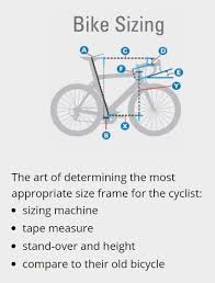 Bike Fitting Chart Comment Understanding The Difference Between Bike Fitting