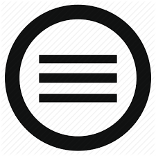 Slide Circle Application Circle Hamburger Menu Navigation Options Slide Icon
