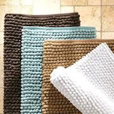 fluffy white bath mat best bathroom rugs ideas on classic pink bathrooms basement