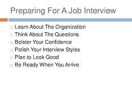 Following Up On Job Interview Interviewing For Employment And Following Up