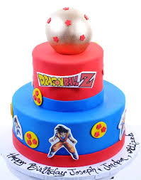 Dragon Ball Z Decorations Birthday Cakes Images Dragon Ball Z Birthday Cake Toppers Dragon 18