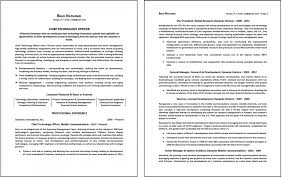 Page Resume Templatess Of Resumes Format Unbelievable 2 Templates