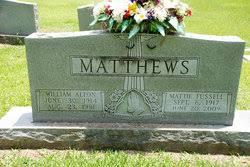 William Alton Matthews (1914-1981) - Find A Grave Memorial