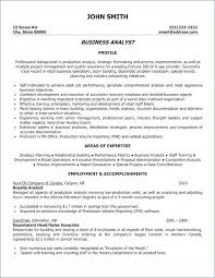 Analyst Resume Objective It System Analyst System Analyst Resume