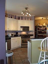 white track lighting for kitchen track lighting kitchen idea