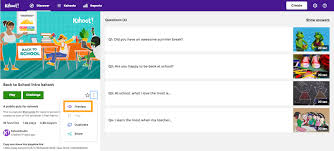 how to preview a kahoot