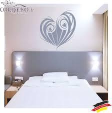 Liebe Herz Hochzeit Schlafzimmer Wandaufkleber Wall Decal Love