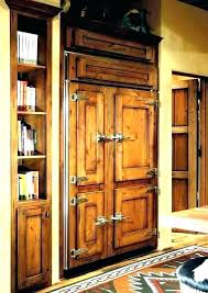 wood panel refrigerator. Delighful Refrigerator Refrigerator With Cabinet Doors Wood Panel Front Refrigerators Panels  Exotic Fridge White Door Paneled Paneling   Intended Wood Panel Refrigerator T