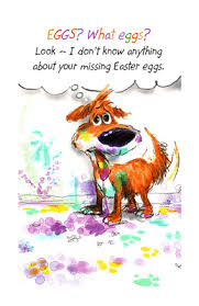 American Greetings Templates Printable Card From The Dog Easter Bunny Assistance