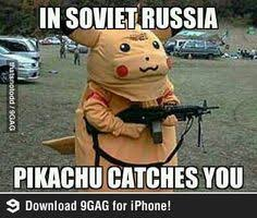"""The goofy """"In Soviet Russia..."""" meme is still going around the ... via Relatably.com"""