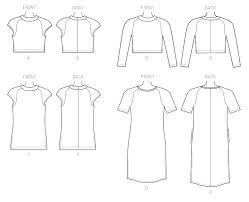 Raglan Sleeve Pattern Extraordinary McCall's 48 Misses' Knit Raglan Sleeve Pullover Tops Tunic And