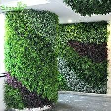 greenery wall decor multi purpose artificial boxwood greenery grass panels indoor outdoor wall decor home renovation