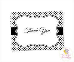 Printable Thank You Cards 70 Thank You Card Designs Free Premium Templates