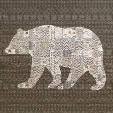 18 best bears images on Pinterest | Bear paw quilt, Quilting ideas ... & Brown bear, black bear, patchwork bear what do you see? I see a soft and  cuddly quilt waiting for me. Adamdwight.com