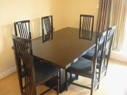 Black Granite Dining Table Used