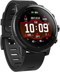 Купить <b>Умные часы Xiaomi Huami Amazfit</b> Stratos Black по ...