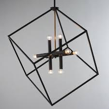 black metal chandelier. Living Black Metal Chandelier