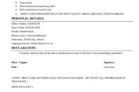 Extra Curricular Activities In Resume Sample 19 Mba Candidate Http
