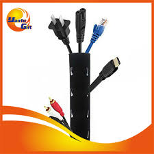 office cable management. Black 2mm Neoprene Cable Management For Office Or Home Use - Buy Management,Decorative Management,Office Product On N