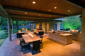outdoor kitchen lighting. Modern Outdoor Kitchen Lighting