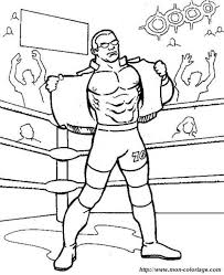 Kid Therapy Wwe Images Wrestling Party On Stunning Giant Coloring